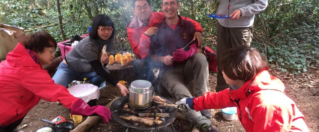 UK-China Education - Forest School
